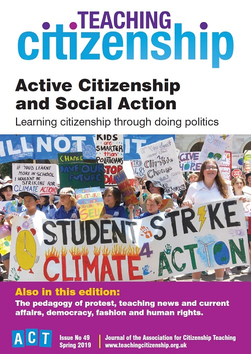 Teaching Citizenship Issue 49 Spring 2019