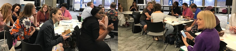 Teachers at the ACT Regional CPD Day on 5 July 2019 in London